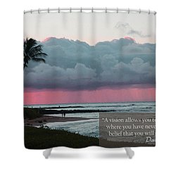 You Will Get There Shower Curtain by Dana Kern