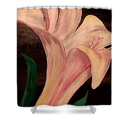 Young Blossom Shower Curtain by Mark Moore