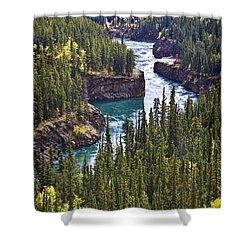 Yukon Territory, Canada Shower Curtain by Richard Wear