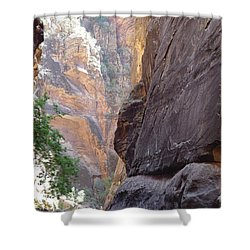 Zion Awe Shower Curtain