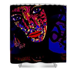 Zora Shower Curtain by Natalie Holland