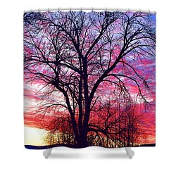 -11 Sunrise Shower Curtain