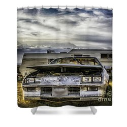 80's Chevrolet Camaro Shower Curtain