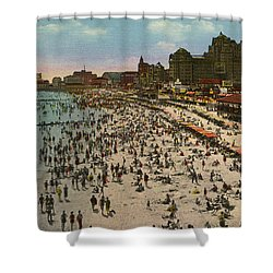 Atlantic City Spectacle Shower Curtain