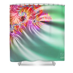Aurora Color Dreams Shower Curtain by Stefano Senise