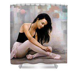 Ballerina Dreams Shower Curtain