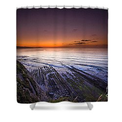Basque Country Shower Curtain
