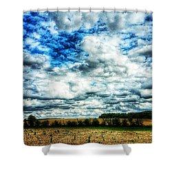💙 Big Skies 💙 Shower Curtain