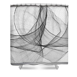 ' Caught In The Gauze Of Life ' Shower Curtain