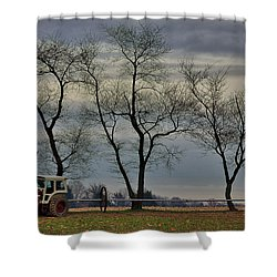 Central Jersey Farmstead Shower Curtain