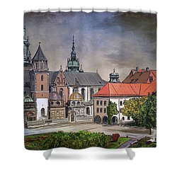 Cracow.world Youth Day In 2016. Shower Curtain