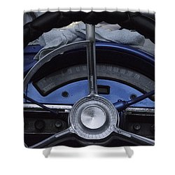Cuba Car 6 Shower Curtain
