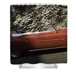 Cuba Car 7 Shower Curtain