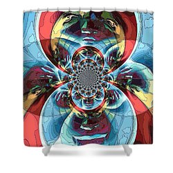 Different Perspectives  Shower Curtain