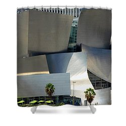 @ Disney Hall, Los Angeles Shower Curtain