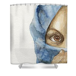 Esther Shower Curtain by Annemeet Hasidi- van der Leij
