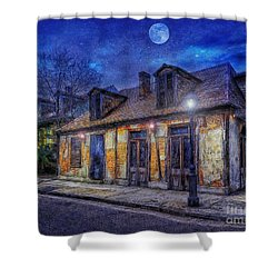Evening At The Blackmiths Shower Curtain