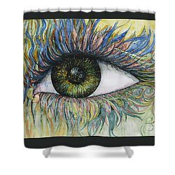 Eye For Details Shower Curtain