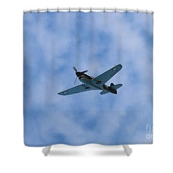 Fly Tiger 2 Shower Curtain