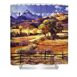 Foothills Ranch Shower Curtain