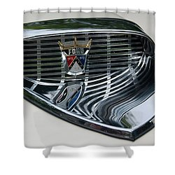 Ford Chrome 13124 Shower Curtain by Guy Whiteley