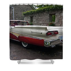 Ford Fairlane  Shower Curtain by Guy Whiteley