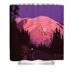 Highway To Sunrise Shower Curtain