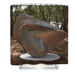 ' The Shell Game ' Shower Curtain