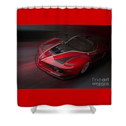 La Ferrari Fxx K Shower Curtain