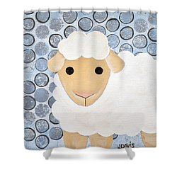 The Blessing Of The Lamb Shower Curtain