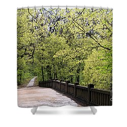 Matthiessen State Park In Spring Shower Curtain