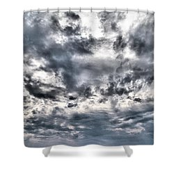 Shower Curtain featuring the photograph  Mental Seaview by Jouko Lehto