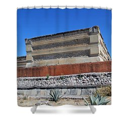 @ Mitla Oaxaca Mexico Shower Curtain