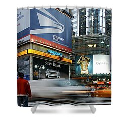 -money Sex And Speed Shower Curtain