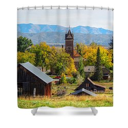 Montpelier Shower Curtain by Charlotte Schafer