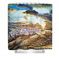 Moving Clouds Shower Curtain