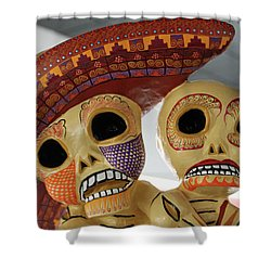 @ Oaxaca, Mexico Shower Curtain
