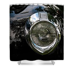 Shower Curtain featuring the photograph  One Eye 13128 by Guy Whiteley