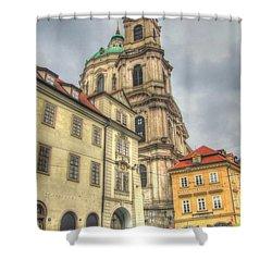 Praha Chehia Shower Curtain