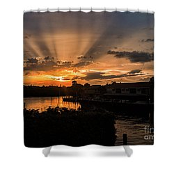 Guiding Lights Shower Curtain