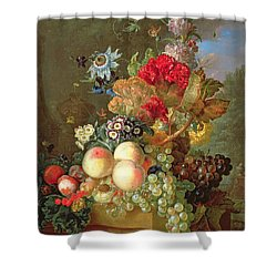 Still Life With Auriculus  Shower Curtain