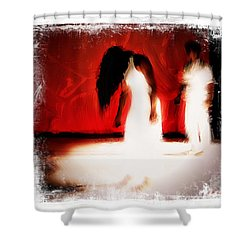 Stop Violence Against Women 4 Shower Curtain