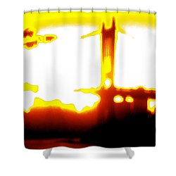 Sunset In Astoria Park Shower Curtain by Yelena Tylkina
