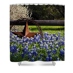 Texas Bluebonnets IIi Shower Curtain