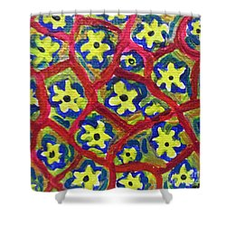 The Garden Next Door - London England Shower Curtain