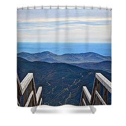 The Open Door Shower Curtain by Deborah Klubertanz