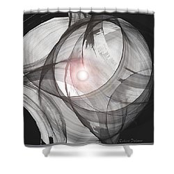' The Potential Formation Of Creation ' Shower Curtain