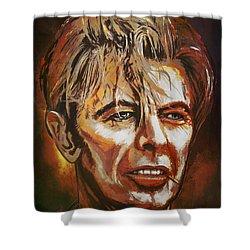 Tribute To David Shower Curtain