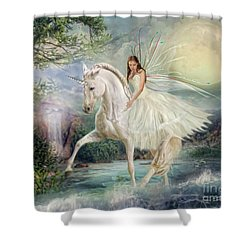 Unicorn Magic Shower Curtain
