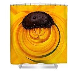 Yellow Shower Curtain by Jouko Lehto
